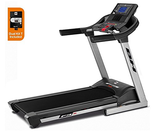 BH FITNESS i.F3 DUAL WG6424 tapis roulant elettrico pieghevole extralarge con Dual Kit