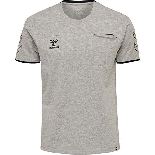 Hummel Herren CIMA T-Shirt 205505 Grey Melange M