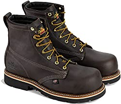 Thorogood Men's American Heritage 6 Inch Safety Toe - Best Lace-up Boot