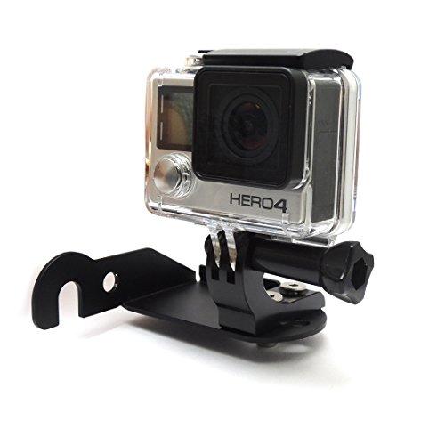 R1200GS Staffa anteriore luce Staffa moto per Hero 3 4 videocamera Supporto fotocamera sportiva Telecamera Di Montaggio Supporto per R 1200 GS C600 SPORT F650GS F700GS F800GS ADVENTURE R1200