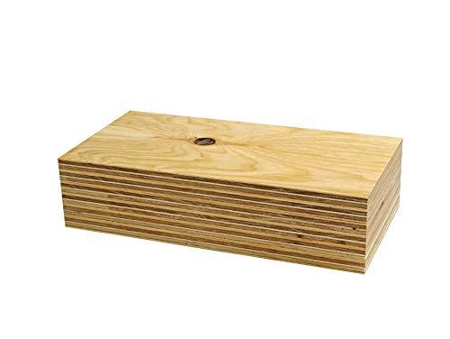 針葉樹合板(構造用合板) 厚み12mm 高耐水性 JAS F☆☆☆☆ 板材・コンパネ・合板 (300×150mm 6枚セット)
