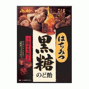 アサヒグループ食品 はちみつ黒糖のど飴 92g ×6袋