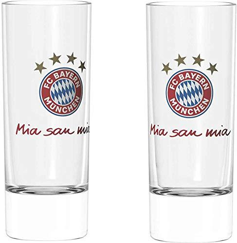 FC Bayern München Schnapsglas 2er Set