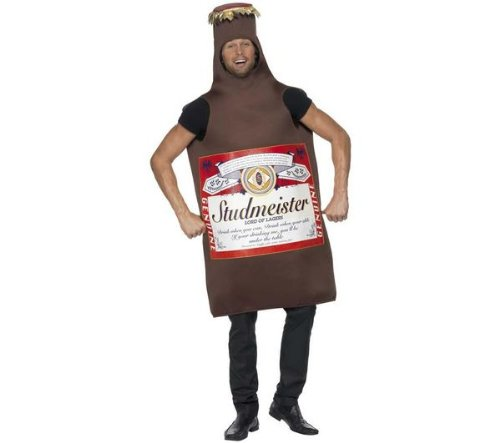 Smiffy S Adult Beer Can Costume – One Size Fits All, Costume)