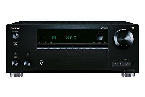 Onkyo TX-RZ720 B–7.2AV-Receiver (175Watt pro Kanal, THX-Zertifizierung, Dolby Atmos, DTS, WLAN, Bluetooth, fireconnect) schwarz