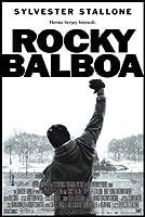 ロッキーバルボア–シルベスタースタローン–トルコ輸入映画壁ポスター印刷-30CM X 43CM