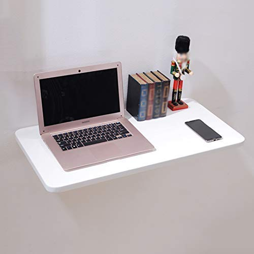 Mesa plegable ESCRITORIO Monte en pared simple Mesa de comedor plegable Saving Saving Laptop Escritorio Pino Madera Convertible Escritorio (blanco) Ahorre espacio, 100 × 30 cm ( Color : - , Size : - )
