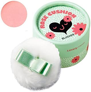 [THEFACESHOP] Lovely Meex Pastel Cushion Blusher 01, Long Lasting & Moisturizing Rose Cushion - 10g