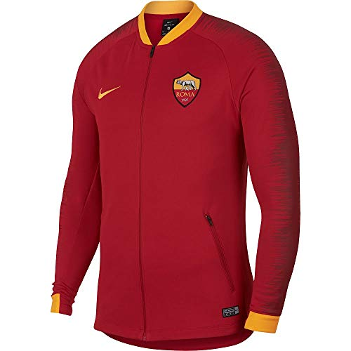 Nike A.S. Rom Jacke, Herren XXL Team-karmesinrot/Universität-Gold