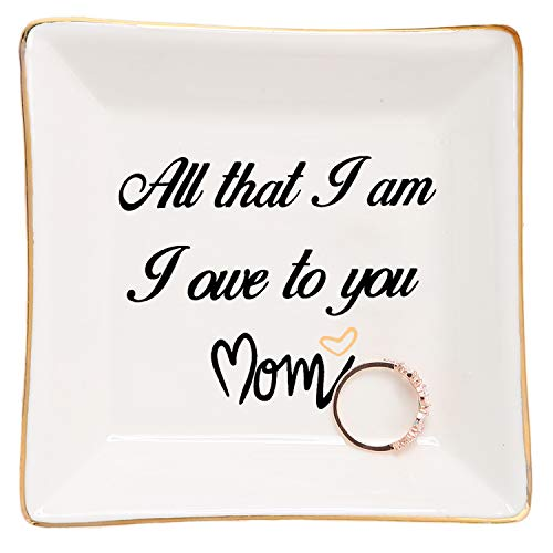 HOME SMILE Mother of Bride Gifts from Daughter Ring Dish - All That