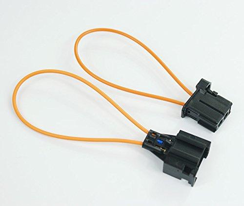 wroadavee Most Fiber Optic Loop Male & Female Connector for Audi/BMW/Mercedes etc.