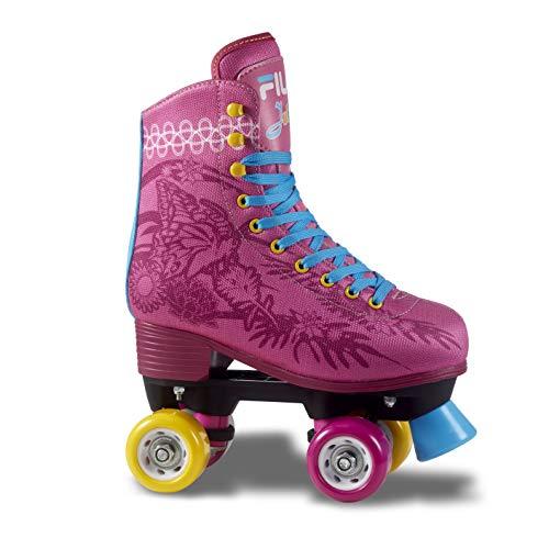 Patins Quad Fila Juliet Infantil Fila Skates meninas ROSA 37