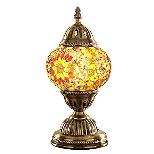 Geefsuhl Tafellamp, bureaulamp, turquoise, voor bar, koffie, Art Deco van brons, kleur corpus van metaal
