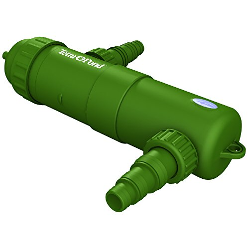 TetraPond UVC-9 GreenFree UV Clarifiers For Up To 1800 Gallons, 9-Watt