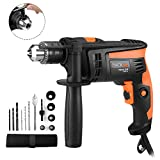 Hammer Drill,Tacklife Impact Drill 710W 2800 RPM Hand Electric Drill...