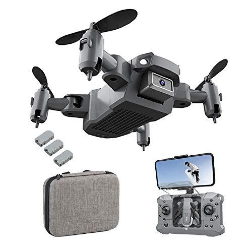 KY905 Mini-Drohne mit 4K-Kamera für Erwachsene, WiFi-FPV-Drohne 1080P HD-Kamera, Weitwinkel-Live-Video-RC-Quadcopter mit Headless-Modus, Auto-Hover, Start / Landung mit einer Taste