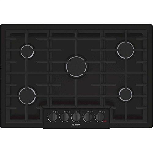 Bosch NGM8065UC 800 30' Black Gas Sealed Burner Cooktop