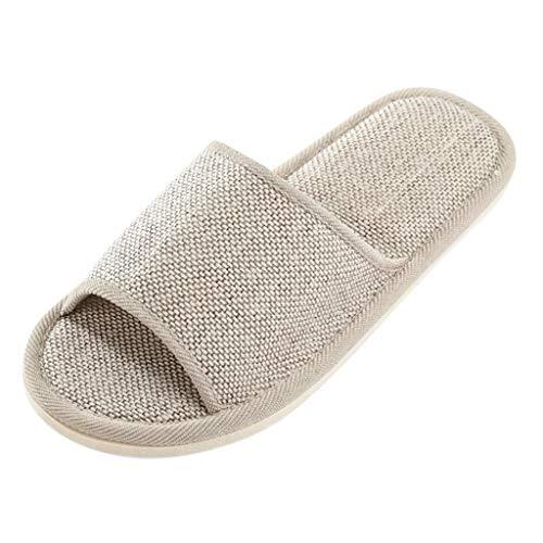 Vectry Zapatillas de Interior para Mujer Zapatillas de Punta Abierta para Interiores...