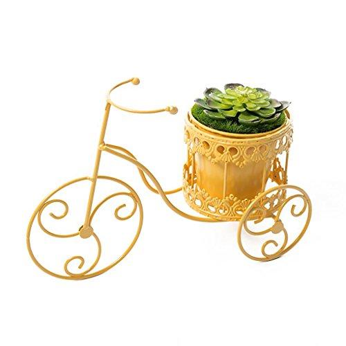 Support de fleur en métal Iron art Bureau vélo pot rack moderne Simple bureau Vert Orchidée Stand Petite fleur stand (style : B)