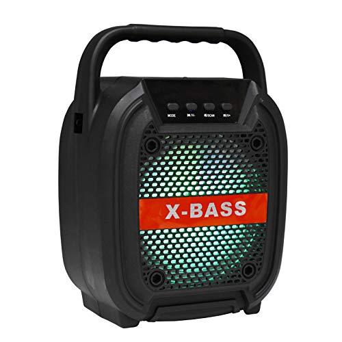 Adaskala BT6117 Altoparlante Bluetooth Wireless Portatile Cassa di risonanza Esterna Bass...