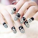 Fdesigner Bride Fake Nails Crystal Flase Nail Decoration Acrylic Nail Art Tips Long Press on Nail...