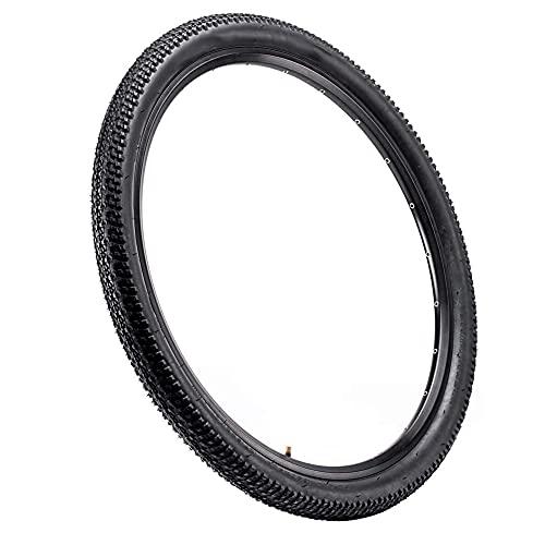 Yi-Achieve Los Neumáticos De Bicicletas De Montaña 26x2.1inch Sólido Neumático Neumático Reemplazo Todoterreno Negro