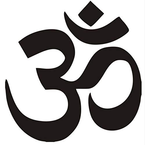 Symbol Hinduismus Spirituelle Wand Auto Aufkleber Aufkleber Höchste Qualität Fabrikverkauf Direkt Aufkleber Muraux Wandkunst 40X40 Cm