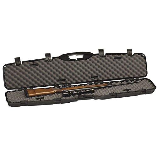 Gun Case, Scoped Rifle Shotgun Hard Case ~ Hunting, Shooting Practice, Storage ~ Lockable and Airline TSA Approved