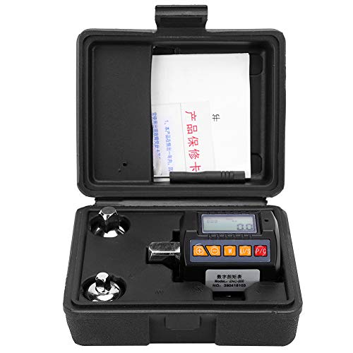 FAMKIT Llave dinamométrica digital, medidor de torsión de pantalla Adaptador portátil de alta precisión ZNC‑200 20‑200N.M
