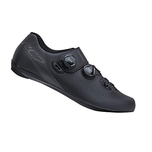 SHIMANO SH-RC701 LSG Race-Ready Road Cycling Shoe, Black, 49