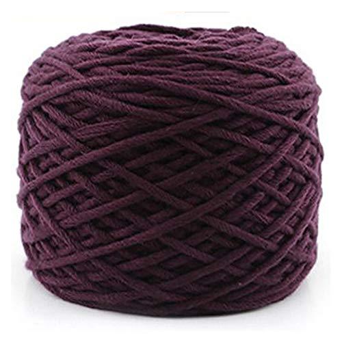 SXCXBH Filato Gigante Sciarpa Intrecciata Maglione Thick Yarn 16 Stelle Ago Filo di Cotone Donne da Uomo Sciarpa in Tessitura (Color : 26 Roland Red)