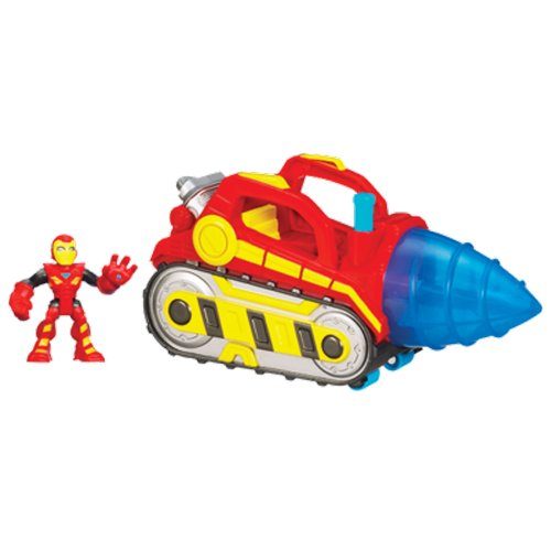 Playskool Heroes – 38137 – Marvel Super Hero Adventures – Foreuse Répulsive d'Iron Man (Import UK)