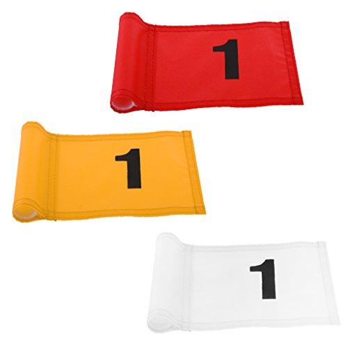 D DOLITY Banderas de Campo Deportivo y Patio Trasero de Casa para Juegos y Diversiones de Golf - Número 1