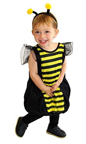 GIFT TOWER 2er Bienenkostüm Kinder Halloween Kostüm Baby Mädchen Kinderkostüme Jungen für Halloween Karneval Fasching Cosplay Mehrfarbig S/für 90-105cm