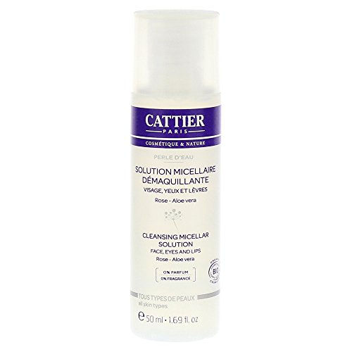 Cattier Perle d'Eau Solution Micellaire Démaquillante 50 ml