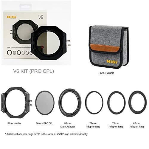 Vidrio Optico,IR Nano Multicapa Revestimiento NiSi 75x80mm ND 1000 10 PASOS Filtro de Densidad Neutra 3,0