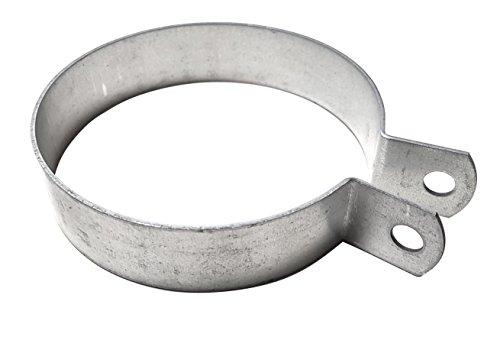 Intelmann Rohrschelle 125mm, für Wickelfalzrohre, einteilig, ohne Einlage, verzinkt