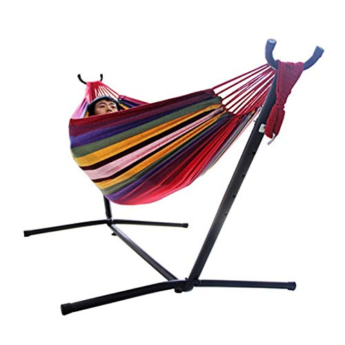 Zhangmeiren Removable Assembled Portable Outdoor Balcony Hammock Indoor Swing Hanging Chair Stand Bracket (Color : A)