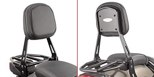 Respaldo específico Negro con Soporte para alforjas Honda CMX 500 Rebel (17 > 18) - TS1160B