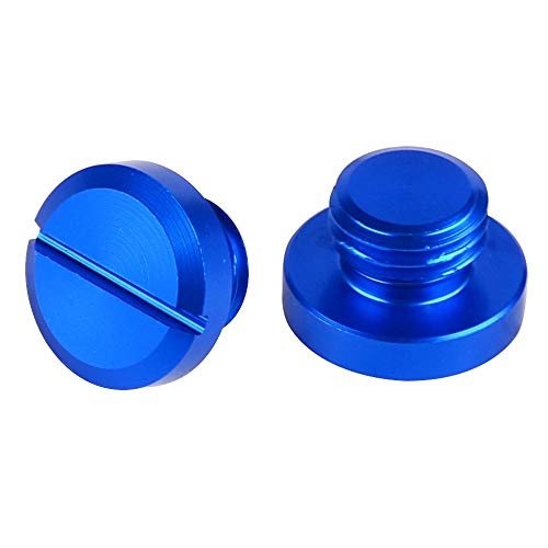 Felicey M10 * 1,25 Spiegellochstecker Schraube für su.zu.ki Bandit1200 SV1000 HO.N.DA CB600F / CB650F X-ADV K-A-W-A-S-A-K-I Z750 Z650 Z1000 Z800 Verse 1000 Stylistisches Aussehen (Color : Blue)