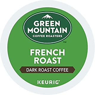 Green Mountain Coffee, French Roast, Single-Serve Keurig K-Cup Pods, Dark Roast Coffee, 48 Count (2 Boxes of 24 Pods)