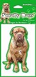 2 x Dogue de Bordeaux French Mastiff Turner & Hooch Breed of Dog Air Fresheners