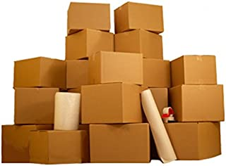 4 Room Basic Kit- 55 Moving Boxes & Packing Materials