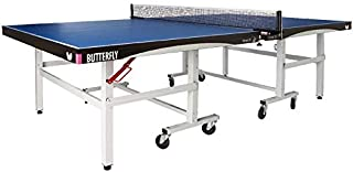 Butterfly Octet 25 Rollaway Table Tennis Table - 1 Inch Top Ping Pong Table - ITTF Professional Table Tennis Table