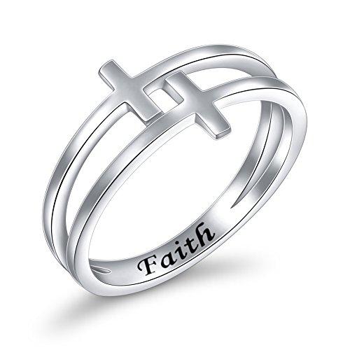 double cross ring - 1