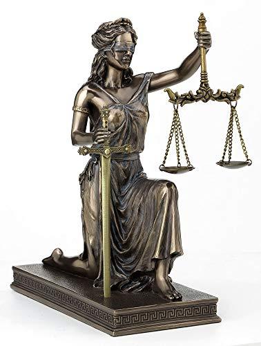 Veronese Design Estatua de abogado griego romano de 25,4 cm para mujer...