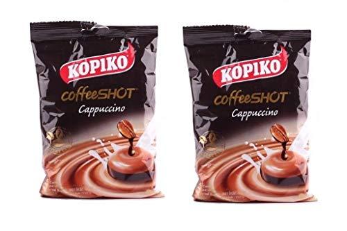 Pamai Pai® Doppelpack: 2 x 150g Kopiko Cappuccino Kaffee Bonbon Bonbons Koffein Thailand