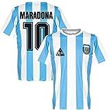 Maillot Maradona, 1986 Argentine Jersey, pour l'uniforme de Football de Maradona No.10, Jersey commémoratif, Ensemble de maillot de football (L)