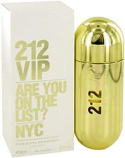 212 Vip by Carolina Herrera Eau De Parfum Spray 80 ml for Women