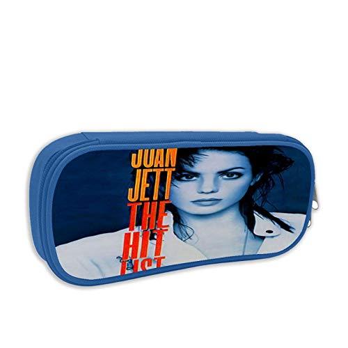 Joan Jett - The Hit List Bleistiftetui Großformatiges Bleistiftetui Kosmetisches Bleistiftetui Briefpapier Geeignet für Schule/Büro